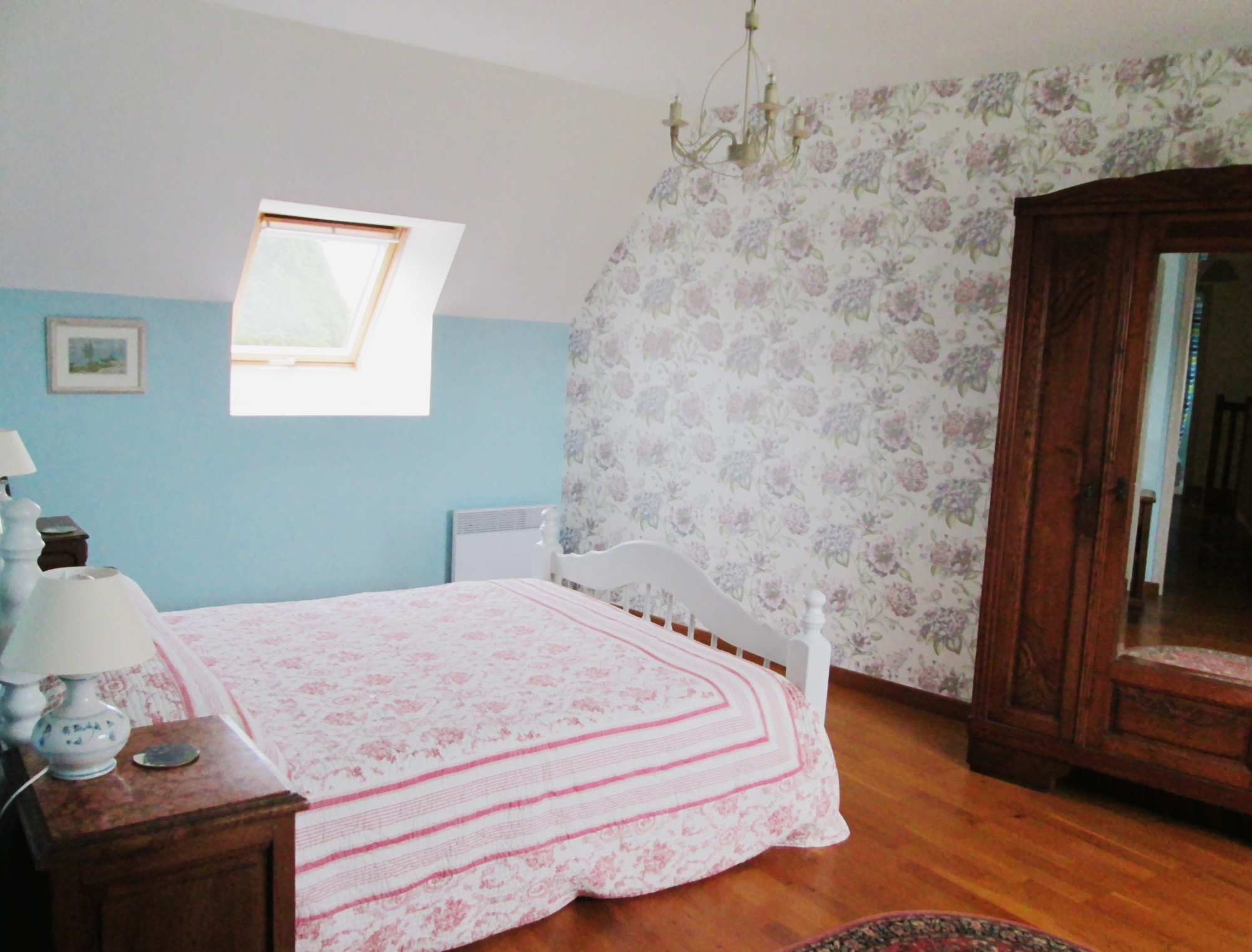 Main bedroom in Fougère
